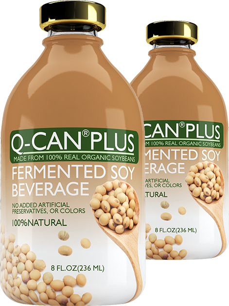Q-Can Plus - Fermented Soy Beverage